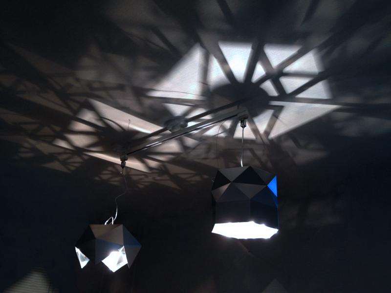金属と光で遊ぶ