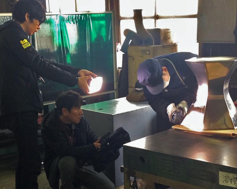 テレビ静岡「てっぺん静岡」にて三代目板金屋が紹介されます。