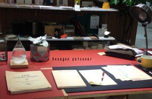 MissionBay 静岡マルイ店にてお取扱いスタートです! モダンな雰囲気にも、男前インテリアにもぴったりな鉢カバー